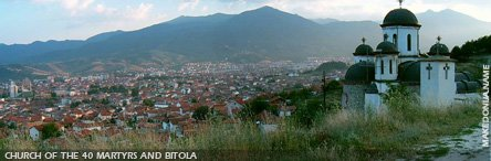 View of Bitola