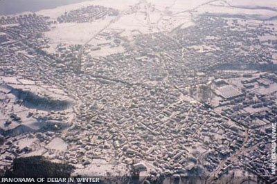 Aerial view of Debar