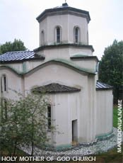 Holy Mother of God church in Berovo