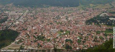 Panorama of Kicevo