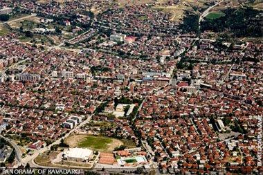Panorama of Kavadarci