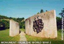 Kavadarci - Monument from the Second World war in Vatasha