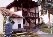 The House of Strasho Pindzur in Vatasha