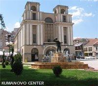 Main square in Kumanovo