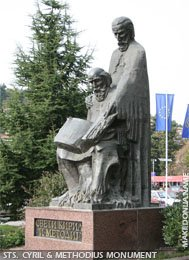 Sts. Cyril and Methodius monument