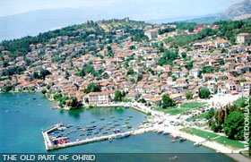 Ohrid, the old part