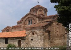 Holy Mother of God Perivleptos church