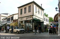 The old bazzar of Skopje
