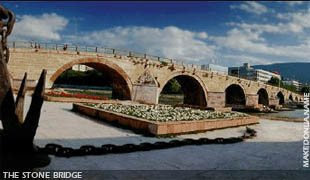 The Stone Bridge of Skopje