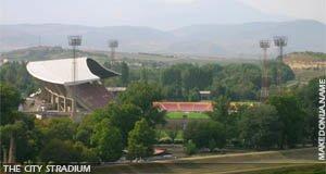 The main stadium of Skopje