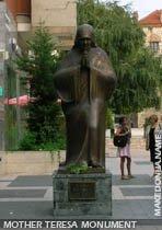 Mother Teresa monument