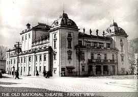 The theatre before 1963