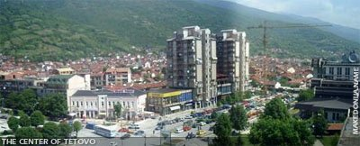 Centre of Tetovo