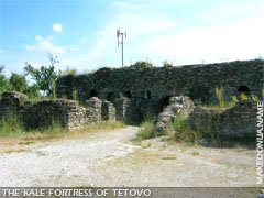 Kale Fortress above Tetovo