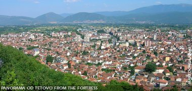 Panorama of Tetovo