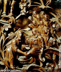 Macedonia woodcarving