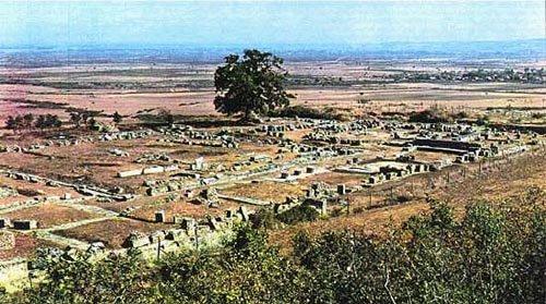 Vergina - Kutles, ancient Macedonian capital