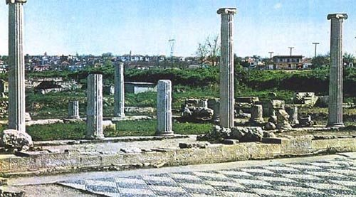 Ancient Macedonian capital Pella