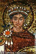 Byzantine emperor Justinijan 2nd