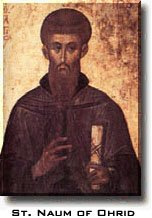 Saint Naum of Ohrid