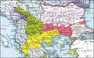 Division of Macedonia