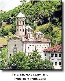 Saint Prohot Pcinjski monastery