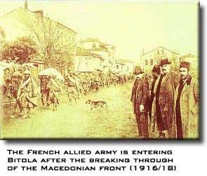 Bitola, Macedonia - First World war