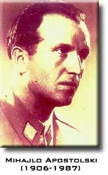 Mihajlo Apostolski Macedonia, Second World war