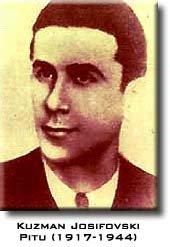 Kuzman Josifovski - Pitu, Macedonia - Second World war