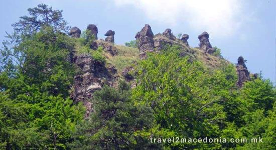 Konopiste stone columns