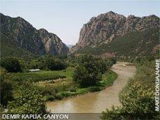 Demir Kapija canyon