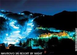 Mavrovo ski resort