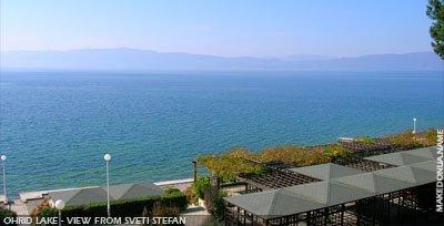 Ohrid lake - Sveti Stefan