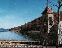 Saint Nikola church in Mavrovo