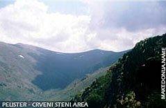 Pelister - Crveni Steni area