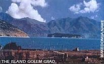 The island Golem Grad