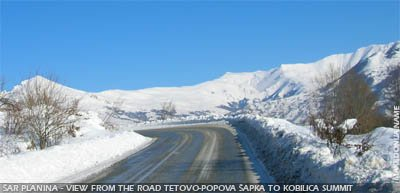 Sar mountain - Kobilica summit