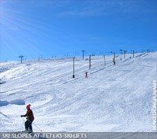 Popova Sapka - Teteks ski-lifts