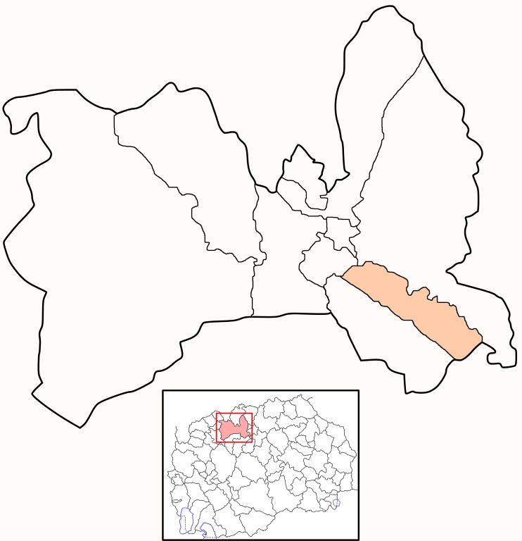 Municipality of Aerodrom map