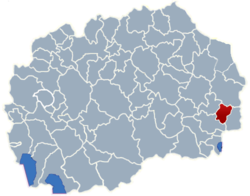 Municipality of Bosilovo map