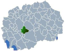 Municipality of Dolneni map