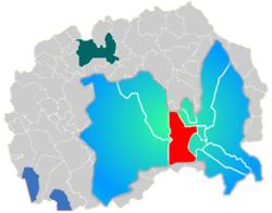 Municipality of Karpos map
