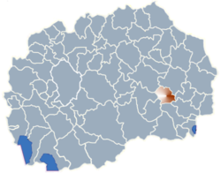 Municipality of Konce map