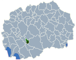 Municipality of Krivogastani map