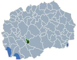 Municipality of Krivogastani map