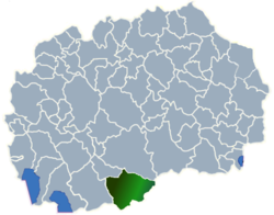 Municipality of Mogila map