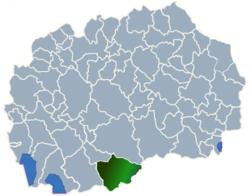 Municipality of Mogila map