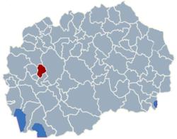 Municipality of Oslomej map
