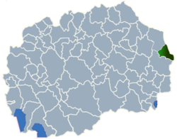 Municipality of Pehcevo map