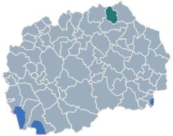 Municipality of Rankovce map